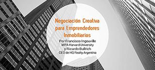 Negociación Creativa para Emprendedores Inmobiliarios